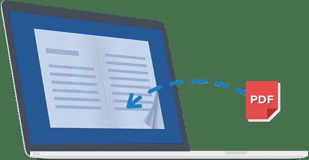 trasforma il pdf in un flipbook